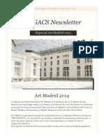 Newsletter Especial Art Madrid 2014