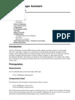 Cisco IP Manager Assistant - IPMA