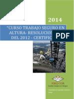 13-01-2014 Certificacion Trabajo en Altura