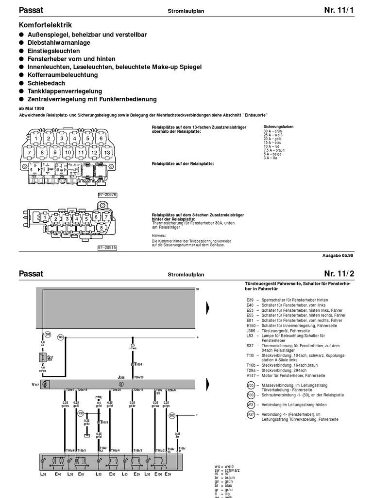 Großzügig Mercedes Benz Fensterheber Schaltplan Ideen - Der ...