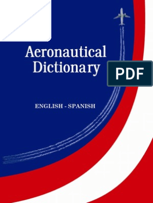 Dictionary Airport Airplane