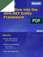 Deep Dive Into the ADO.net Entity Framework