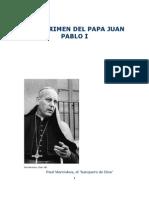 El Crimen Del Papa Juan Pablo i