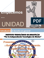 Introduccion Al Derecho Laboral General U-1 Ppt