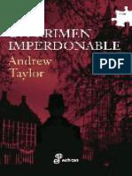 Un Crimen Imperdonable - Andrew Taylor