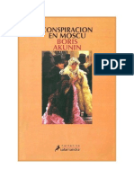 Akunin, Boris - Erast Fandorin - Conspiracion en Moscu