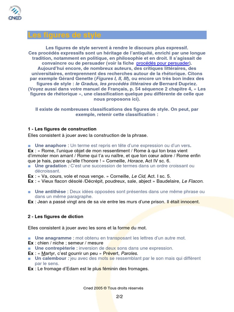figures_de_style.pdf | Métaphore | Rhétorique