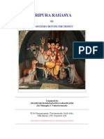 Tripura Rahasya, Chapters I - XV