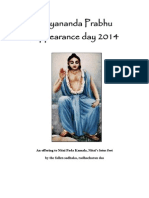 Nityananda Prabhu 2014 Appearance Day Offering