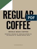 Regular Brew Guide