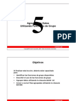 ORACLE SQL DBA Leccion 05 (Español)