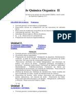 Curso de Química Organica  II