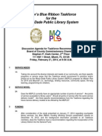 Mayor's Blue Ribbon Taskforce 