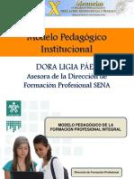 5. Modelo Pedagógico Institucional SENA - Dora Ligia Páez