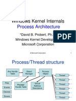 Processes in Windows NT