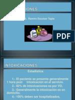 Intoxicaciones Dr.escobar