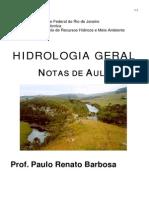 01 - Hidrologia Geral