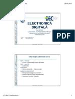 Proiectare digitalaC0