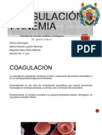 Coagulación y Anemia