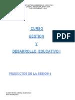 curso de gestion y desarrollo 1