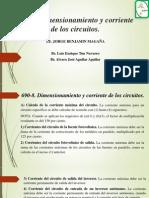 690-8_Dimensionamiento y Corriente de Los Circuitos.