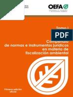 Tomo i Compendio de Normas Fiscalizacion Ambiental