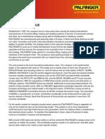 Palfinger Company Profile