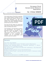 European Pond Conservation Network Newsletter No. 2 Winter 2008/09