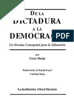 Sharp Gene - De La Dictadura a La Democracia
