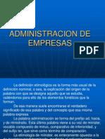 Curso de Administracion de Empresas