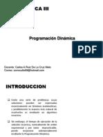 12 PROGRAMACION DINAMICA