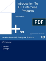 2 Intro to HP Enterprise Products