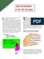Document - Informatique - Règle De Gestion Des Mots De Passe (Pas Mal Pour Cours Ou Magasin).pdf