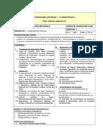 2013-2 Programa Opus II