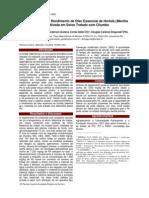 Desenvolvimento e Rendimento de Óleo Essencial de Hortelã