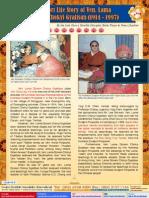 Lake of Lotus (9)-A Short Life Story of Ven Lama Sonam Choky