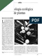 La Fisiologia Ecologica de Plantas