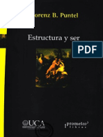 Estructura y Ser - Lorenz B. Puntel