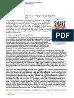 Smart Pricing - Wharton Interview - Dec 2010
