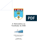 A Matematica No Vestibular Do IME