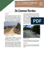 Caminos Rurales (INFOM)