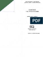 Nicolas Poulantzas, Jean Pouillon, Jean-Paul Sartre y Claude Levi-Strauss. Introduccion, Seleccion y Traduccion de Jose Sazbon Sartre y El Estructuralismo 1968