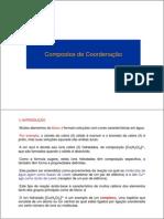 5A Compostos de Coordenação (1)