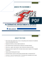 Reliance PE Fund India Oct 2013 update on investments