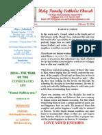 hfc february 23 2014 bulletin 1