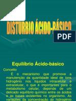 EQUILÍBRIO ÁCIDO BÁSICO JOÃO BOSCO