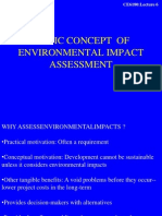 Lecture-6-Basic Concept of Environmental Impact Assessment-28012013