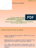 Lecture-8-Evolution of Eia in India-31012013