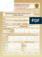 CIMS Application Form 2014