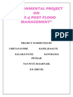 Pre-Post Flood Management